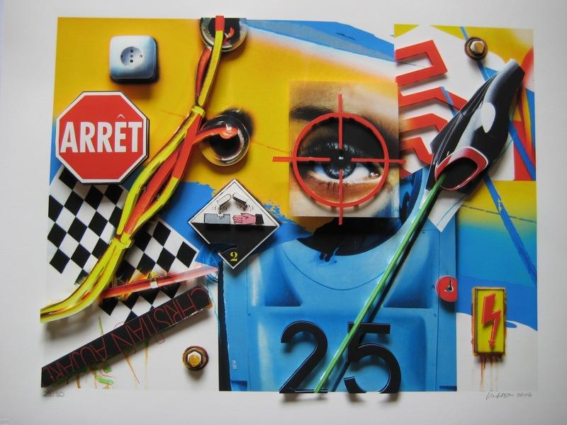 Peter KLASEN - Print-Multiple - SÉRIGRAPHIE SIGNÉE CRAYON NUM/30 3D HANDSIGNED SILKSCREEN