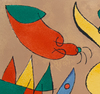 Joan MIRO - Stampa Multiplo - The Massacre of the King of Poland III, from: Series for Kin
