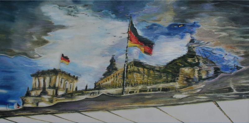 Susanne SCHOLZ - Pintura - Reichstag