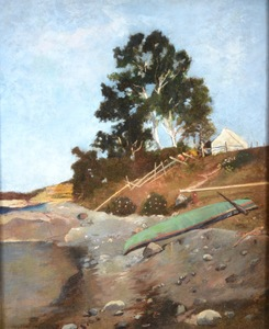 Winslow HOMER - Painting - The Cove