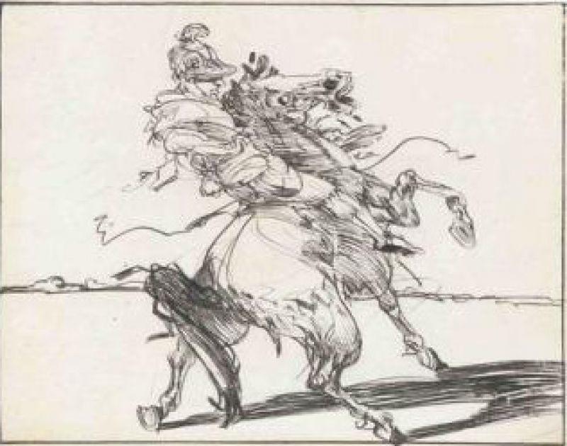 Claude WEISBUCH - Print-Multiple - Le Dragon