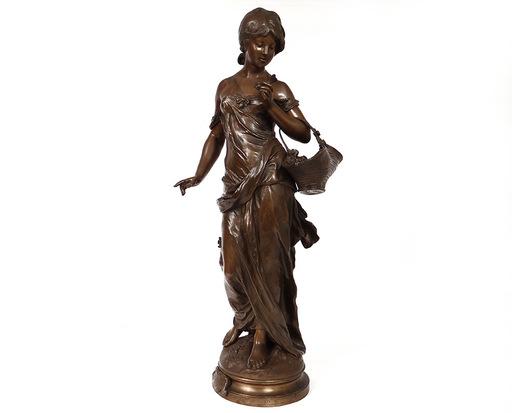 Auguste MOREAU - Escultura - Rose de Mai