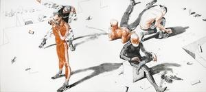 Alexei KALLIMA - Painting - Murids