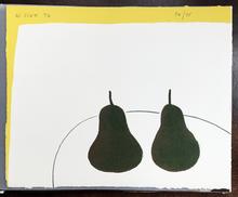 William SCOTT - Grabado - Dark Pears