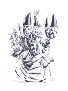 STOM 500 - Drawing-Watercolor - Ermite Crabe