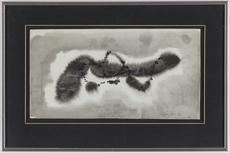 Léon ZACK - Dibujo Acuarela - Composition 1969