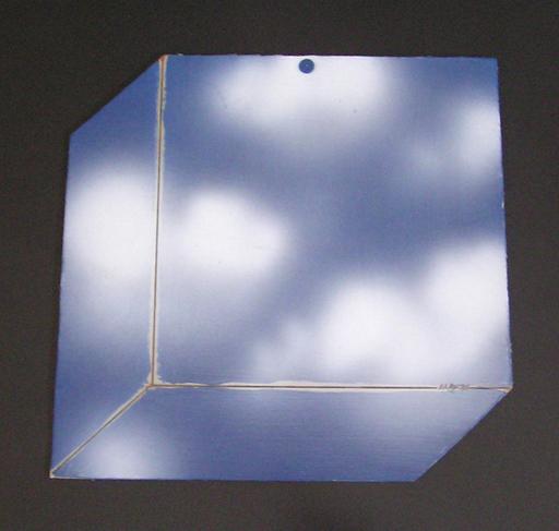 Antonio CARENA - Pintura - Microcielo-cubo