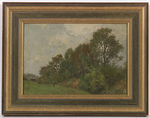 Philipp RÖTH - 绘画 - Impressionist Landscape, 1906