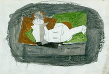 Georges BRAQUE - Dessin-Aquarelle - Nature Morte