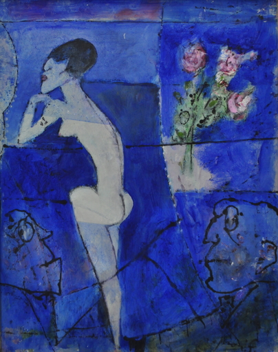 Franco ROGNONI - Painting - Lulu
