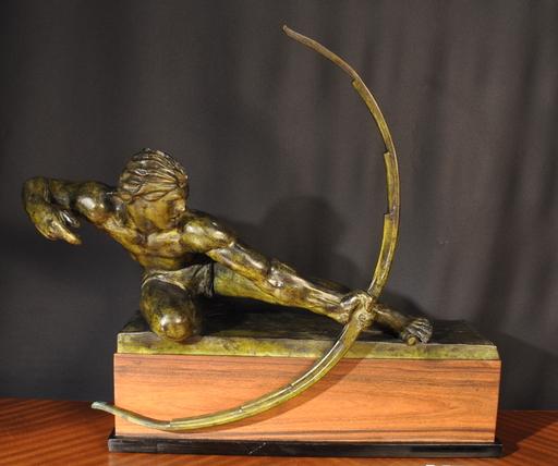 Alexandre KELETY - Escultura - L'archer