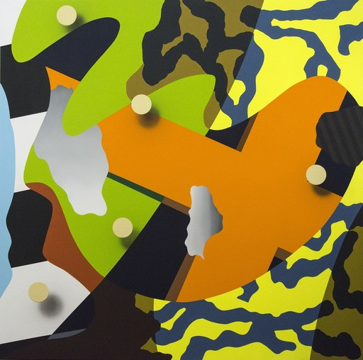Sylvain LOUIS SEIZE - Painting - Resolute