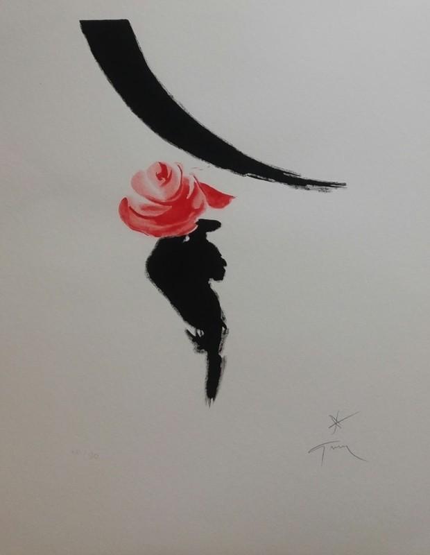 René GRUAU - Print-Multiple - ROSE