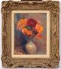 Abraham GINSBURG - Peinture - Flower Still Life