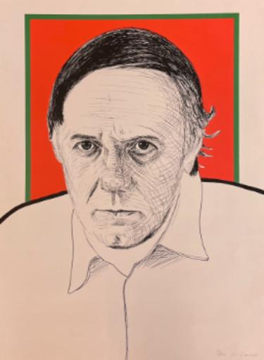 Roger RAVEEL - 版画 - autoportrait