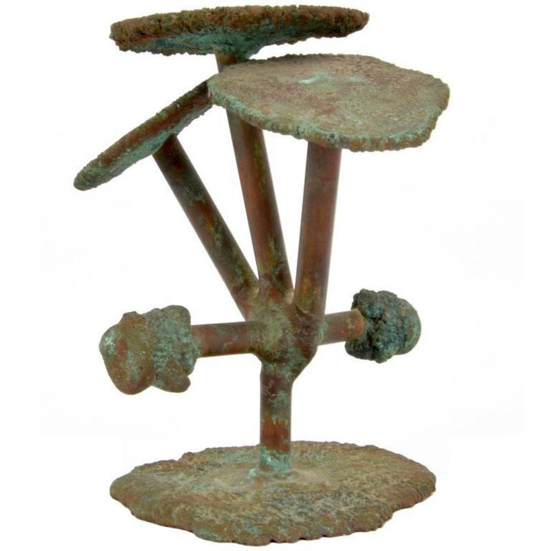 Klaus IHLENFELD - Scultura Volume - Klaus Ihlenfeld Abstract Bronze Sculpture