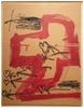 Antoni TAPIES - Painting - Fletxes i Cors
