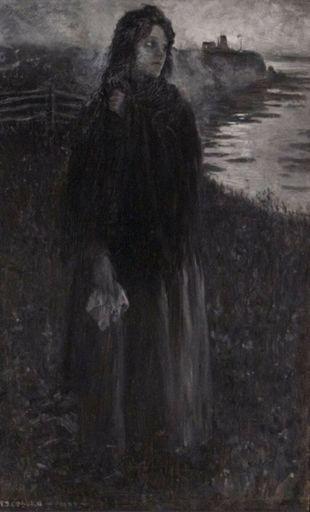 Frederick Simpson COBURN - Painting - Rose Delima