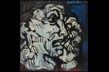 Domenico CANTATORE - Painting - Donna che piange