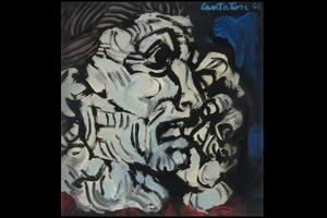 Domenico CANTATORE - Pittura - Donna che piange