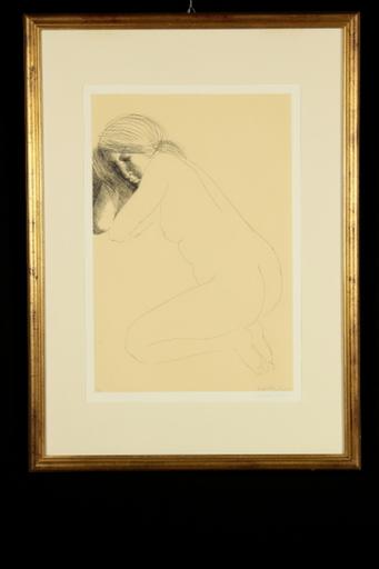 エミリオ・グレコ - 版画 - Nudo femminile