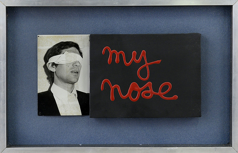 BEN - Painting - MY  NOSE