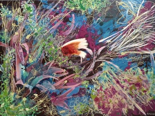 Peny MANAVI - Gemälde - Cactus 7
