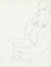 Henri MATISSE (1869-1954) - Young Woman Seated