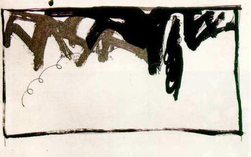 Joan HERNANDEZ PIJUAN - Print-Multiple - Paisaje con ciprés