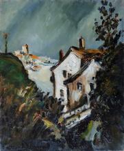 Pierre Jean DUMONT - Pintura - Maisons à Hendaye