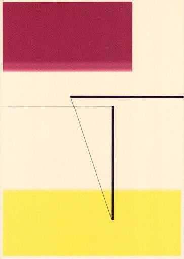 Richard CALDICOTT - Drawing-Watercolor - Untitled, 2014 (Id.383)