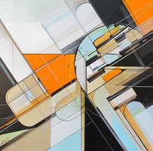 Augustine KOFIE - Peinture -  Incised Series No. 27