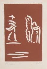 巴勃罗•毕加索 - 版画 - Collection of Linocuts