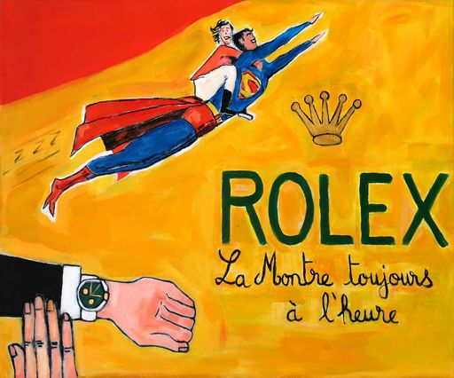 Richard BOIGEOL - Gemälde - Rolex