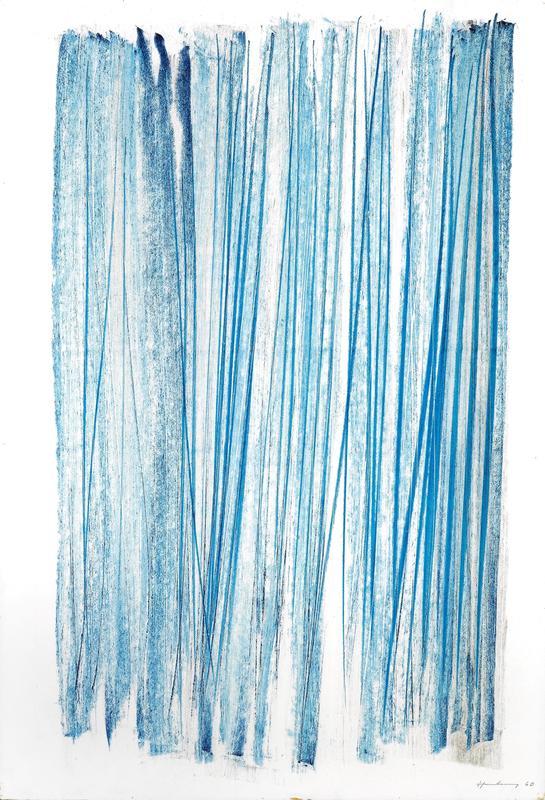 Hans HARTUNG - Dessin-Aquarelle - P1960-349