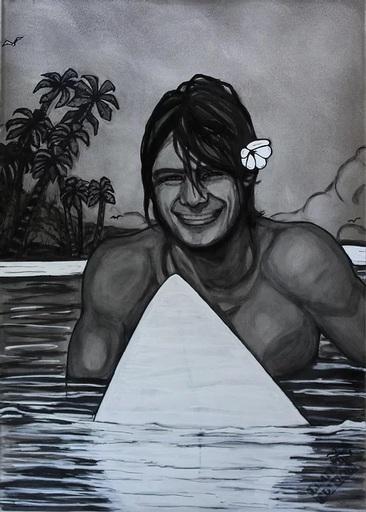 BATLI - Painting - SURFER