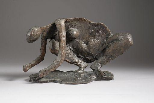 Robert COUTURIER - Skulptur Volumen - FEMME AU CRABE