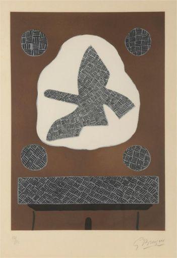 Georges BRAQUE - Stampa-Multiplo - Oiseau de passage