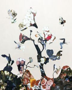Diana HÖDING - Painting - Nur ein Samen der Schöpfung
