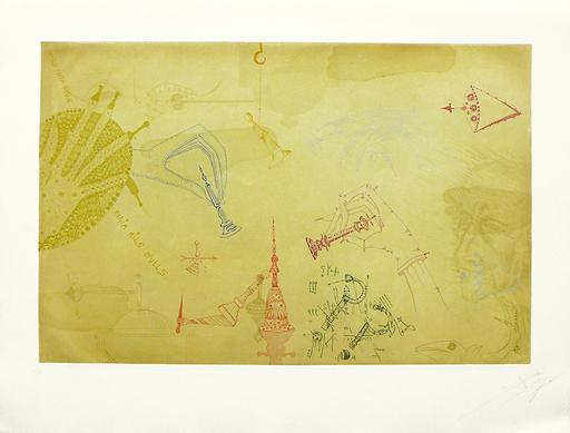 Joan PONÇ - Druckgrafik-Multiple - Homenaje a Marcel Duchamp