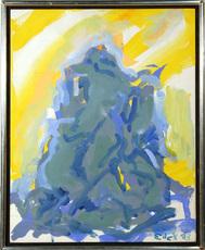 Elaine Marie DE KOONING - Painting - Bacchus