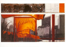 CHRISTO - Print-Multiple - The Gates (p)