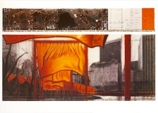 CHRISTO - Print-Multiple - The Gates (p)