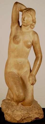 Bretislav BENDA - Keramiken - Kneeling Nude