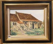 Raymonde AUBRY - Painting - Vieille maison vigneronne