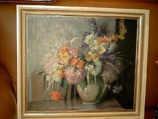 Wilhelm BATTERMANN - Painting - Blumenstrauß