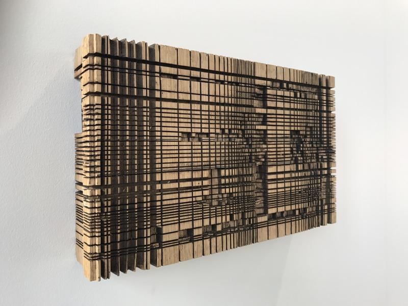 Mathias HORNUNG - Escultura - Holzrelief