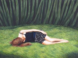 Erlend STEINER LOVISA - Painting - Janne 3    (Cat N° 6346)