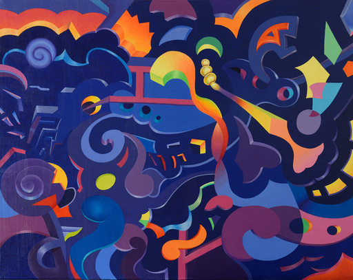 Tim TAYLOR - 绘画 - Entropy