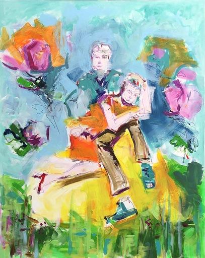 Nicole LEIDENFROST - Gemälde - Sie schläft